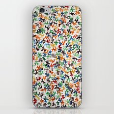 wetpattern003 iPhone & iPod Skin