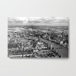 Aerial View of London Metal Print