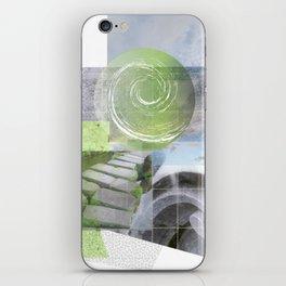 garden steps iPhone Skin
