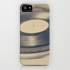 Vinyl  Slim Case iPhone (5, 5s)