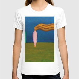Lonely Female Figure by Tarsila do Amaral T-shirt
