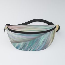 Abstract colored stripes 11 Fanny Pack