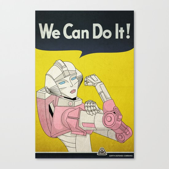 we can do it. Canvas Print