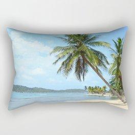 The Caribbean beach 01 Rectangular Pillow