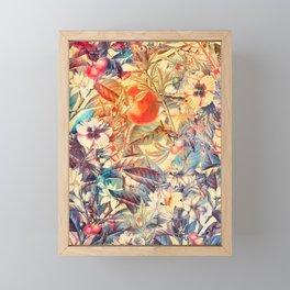 flowers 8 #flower #flowers #pattern Framed Mini Art Print