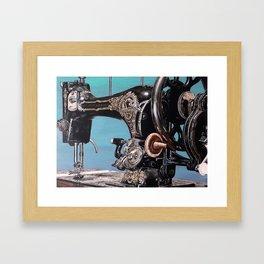 The machine VII Framed Art Print