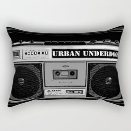 Urban Underdogs Boom Box Rectangular Pillow