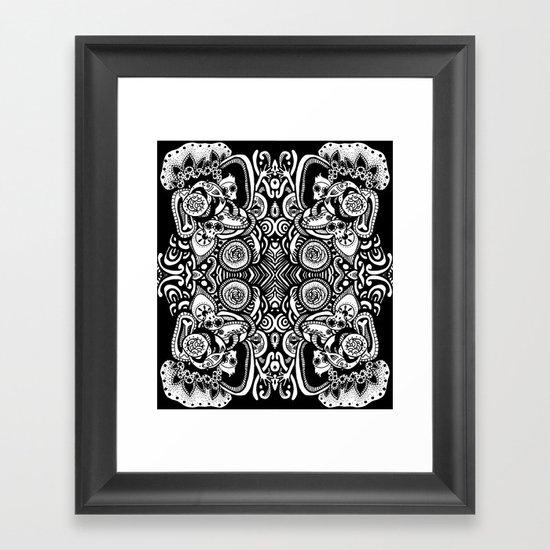 Skulls Framed Art Print