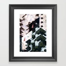 Difference of balance  Framed Art Print