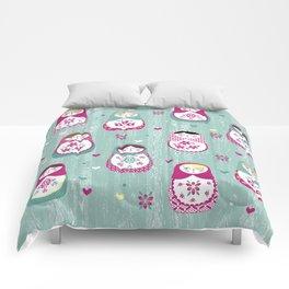 Matryoshka Dolls Comforters