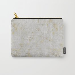 Raw Marble Gold Mine Carry-All Pouch