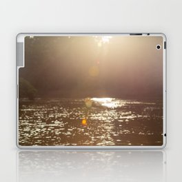 Sun light at Kinabatangan river, Borneo, Malaysia Laptop & iPad Skin
