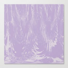 Purple Swimming Pool Rain Water Canvas Print