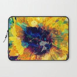 Sunflower Batik Laptop Sleeve