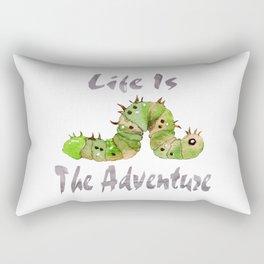 Life Is The Adventure Rectangular Pillow