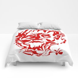 face5 red Comforters