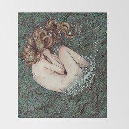 The Birth of Venus Throw Blanket