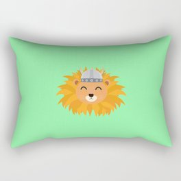 Viking lion head T-Shirt for all Ages Dsok9 Rectangular Pillow