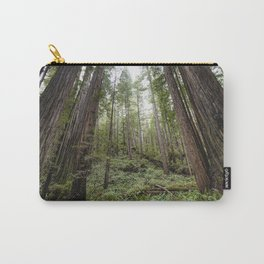 Fern Alley - Redwood Forest Nature Photography Carry-All Pouch