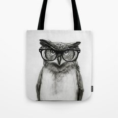 Mr. Owl Tote Bag