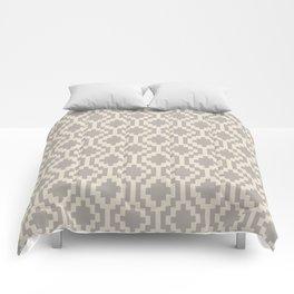 Mapuche Grey/Beige Comforters