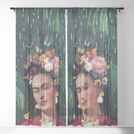 Frida Kahlo :: World Women's Day Sheer Curtain