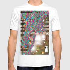 Other World White MEDIUM Mens Fitted Tee