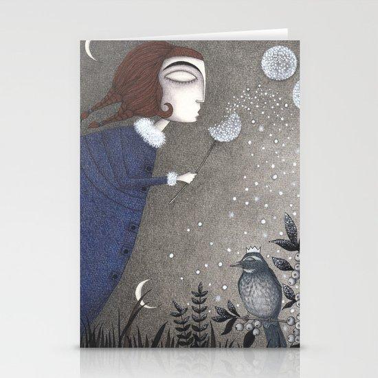 Winter Twilight Stationery Cards