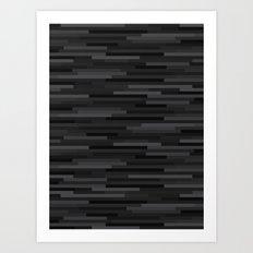 Black Estival Mirage Art Print