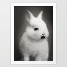G.W Rabbit Art Print