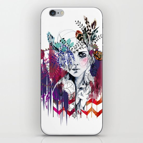 Tribal Girl  iPhone & iPod Skin