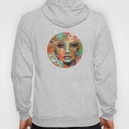 Little Colorgirl Original Painting Hoody