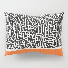 City Sunset Abstract Pillow Sham