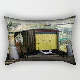 Dunny - Outback Queensland Humour :) Rectangular Pillow