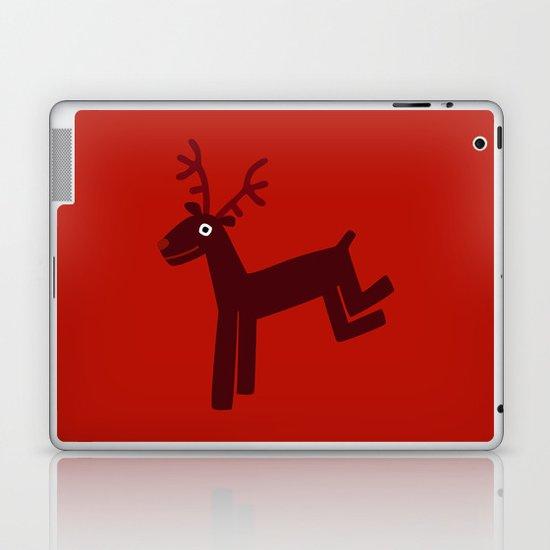 Reindeer-Red Laptop & iPad Skin