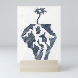 Word Association - Fractal Mini Art Print