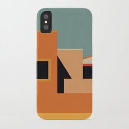 Summer Urban Landscape iPhone Case