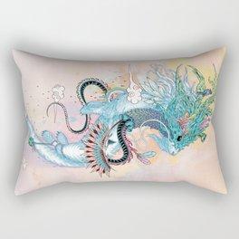Journeying Spirit (ermine) Rectangular Pillow