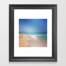 Blue For You Framed Art Print