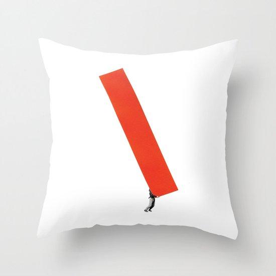 Heavy Construction Throw Pillow