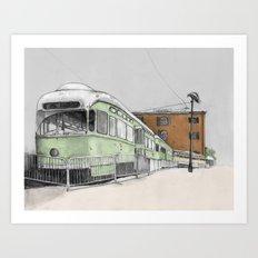 Red Hook Art Print