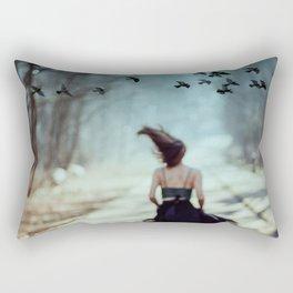 Storm and flight Rectangular Pillow