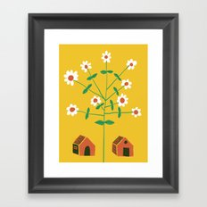 No Fences. No Borders. Free Movement For All. Framed Art Print