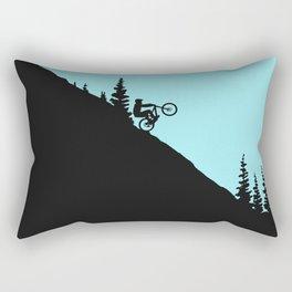 MTB Downhill Rectangular Pillow