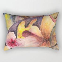 Flower experiment Rectangular Pillow