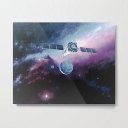 734. Chandra Spacecraft in Orbit Artist Concept Metal Print