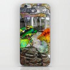 Doodlage 05 - Frog and Fungus   iPhone & iPod Skin
