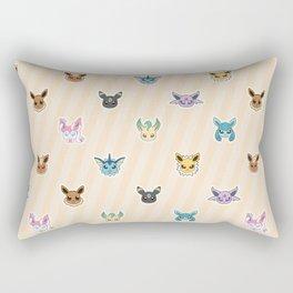 Colorful Pockt Friends Rectangular Pillow