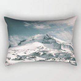 Mount Hood IV Rectangular Pillow