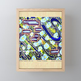 Farewell To Shamans Framed Mini Art Print